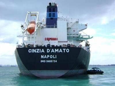 Italian Consortium Vessel: Photo credit Transas Marine