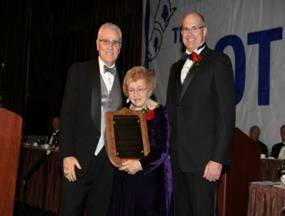 Kiefer, Exec. VP AMO, Hon. Helen Delich Bentley, Chip Jaenichen U.S. Maritime Administrator