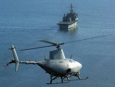 Pilotless Fire Scout Helicopter: Photo credit PD-USGOV-MILITARY-NAVY.