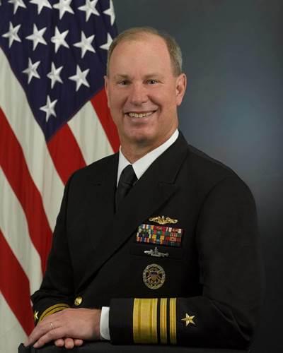 William Burke: Photo courtesy of US Naval Academy