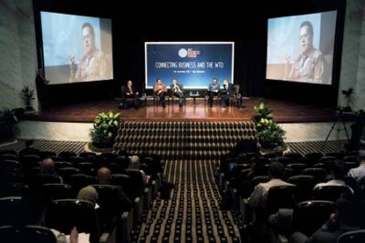 Bali meeting: Photo credit WTO