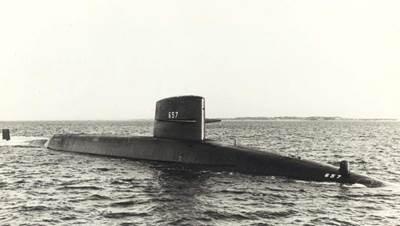USS Francis Scott Key (SSBN-657). U.S. Navy Photo