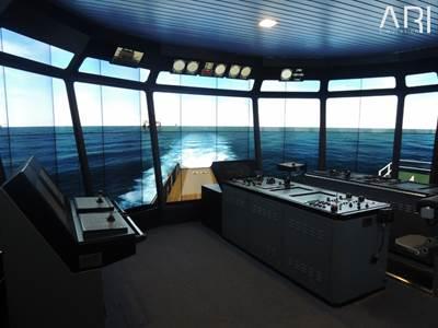 360 OSV Bridge simulation: Photo credit ARI