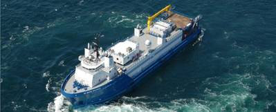 Similar well-stimulation vessel: Photo credit Baker Hughes