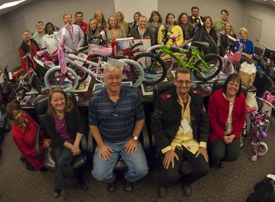 Angel Tree Gifts: Photo courtesy of HII