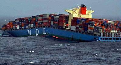 MOL Comfort: Photo courtesy of PTI