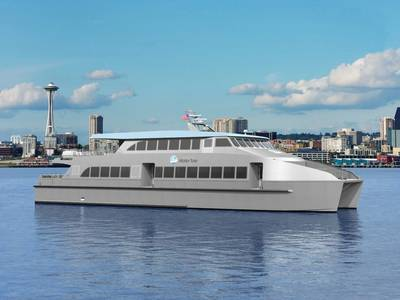 Water Taxi rendering courtesy of King County Ferry District