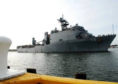 USS Carter Hall: Photo USN