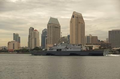 USS Fort Worth (LCS 3). U.S. Navy photo by Senior Chief Mass Communication Specialist Donnie W. Ryan
