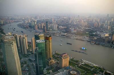 Shanghai Huangpu River: Photo CCL