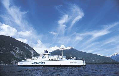 BC Ferry: Photo courtesy of the owners