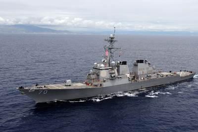 USS Hopper. U.S. Navy photo by Mass Communication Specialist 2nd Class Jon Dasbach