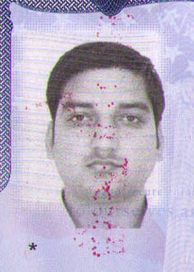 Pictured is a passport photo of tanker crewman Ram Mohan Singh, who was reported missing after a crew muster aboard the Rainbow Quest at 8 a.m. at the Southwest Pass Anchorage, Jan. 7, 2014. Singh is a native of Mumbai, India. (Photo issued by Mumbai passport office)