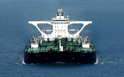 VLCC Tankship DHT Ann: Photo courtesy of DHT