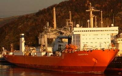Nuclear container ship Sevmorput: Photo Wiki CCL