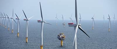 The Sheringham Shoal Offshore Wind Farm. (Photo: Alan O'Neill)