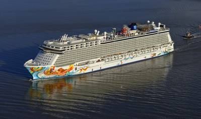 Norwegian Getaway, photo courtesy Meyer Werft