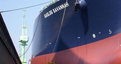 GasLog vessel: Image courtesy of the owners