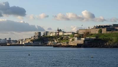 View of Plymouth: Photo credit Geographia/Derek Harper