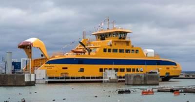 Ferry 'Braheborg': Image courtesy of Cavotec