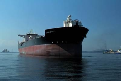Samba Spirit is one of Teekay's four modern Samba Class shuttle tankers, designed for offshore loading in Brazil. (Photo: Teekay Corporation)