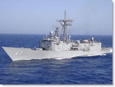 USS Nicholas (U.S. Navy photo)
