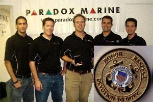 From left: Jonathan Ocasio (Product Specialist), Brian Kane (Director of R & D), Jay Keenan (Vice President), Marc Curreri (President) and JC Ocasio (Senior Product Specialist).