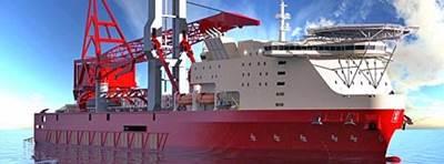 Petrofac JSD 6000L: Rendering courtesy of KONGSBERG