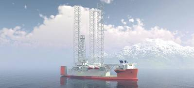 Artist's impression of 'White Marlin' courtesy of Dockwise