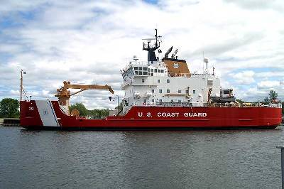 Coast Guard Cutter Mackinaw (Photo: USCG)