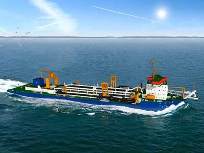 China order suction dredger: Image credit IHC Merwede