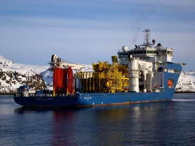 North Sea Giant: Photo credit Technip