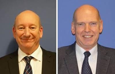 Bob Barrett, Global Sales Manager – NASNet (left) and Donald Thomson, VP Sales, Global Commercial Acoustics