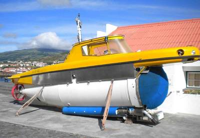 Lula Submersible 5: Photo credit OceanGate