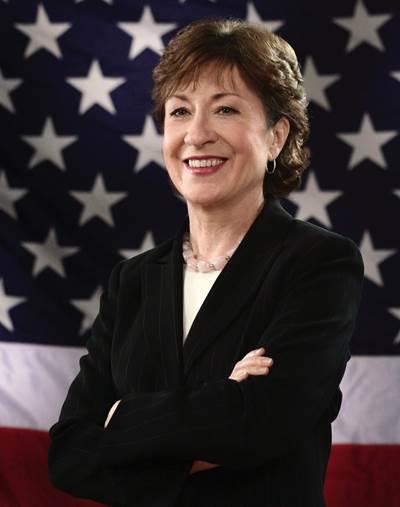 Official photo of Senator Susan Collins