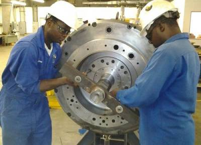 AMPCO employees: Image courtesy of AMPCO