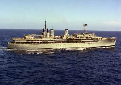 USS Dixie (AD-14). U.S. Navy photo