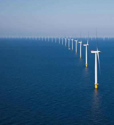 Offshore wind farm file image