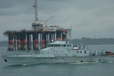 Photo courtesy of Ghana Navy