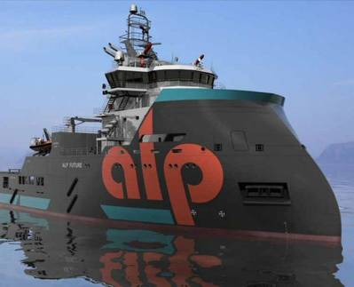 AHTS in ALP Colours: Photo courtesy of Teekay Offshore