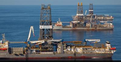 Transocean rigs: Image courtesy of the owners