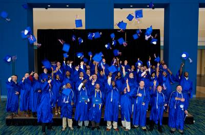 Earlier HII graduates: Photo courtesy of HII