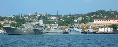 Ukraine warships in Sevastapol, Crimea: Photo CCL 3