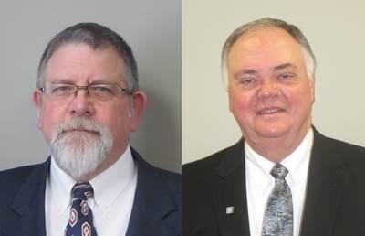 Jim Fremin (left) and Hank Morgan