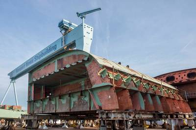 CVN Modular unit: Image courtesy of HII