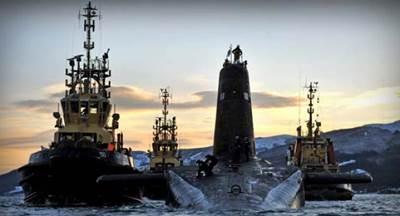 HMS Vanguard: Photo credit RN