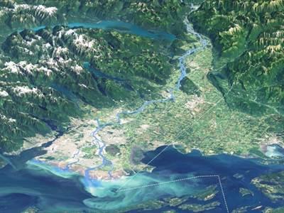 PortMetro aerial view: Photo courtesy of the Port