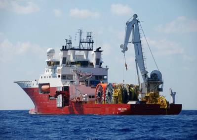 'Fugro Saltire': Photo courtesy of the owners
