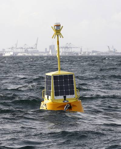 The EIVA ToughBoy Panchax is a wave buoy designed for lowest possible total cost of ownership, as the first member of EIVA's new buoy product range.