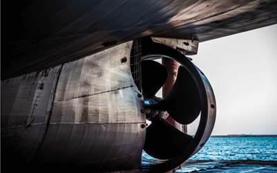 Ship propulsion: Image courtesy of LR/UCL
